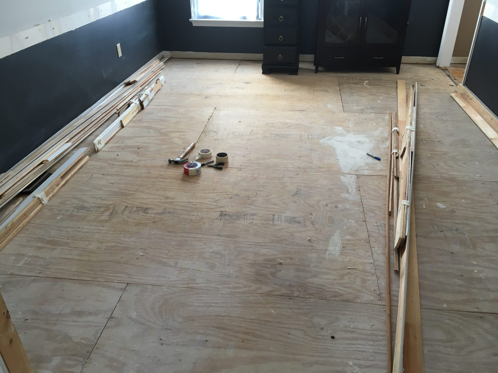 After: Living Room Flooring