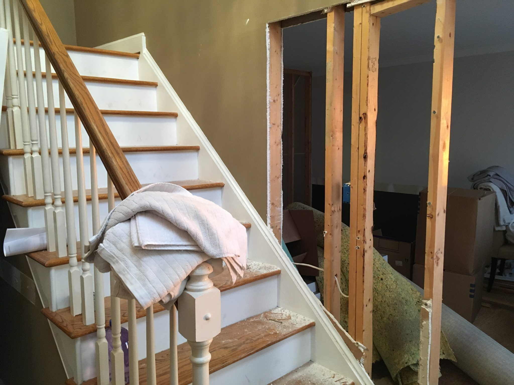Mid-Demo: Staircase Wall