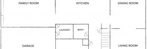 Original Floor Plan - Hampton House