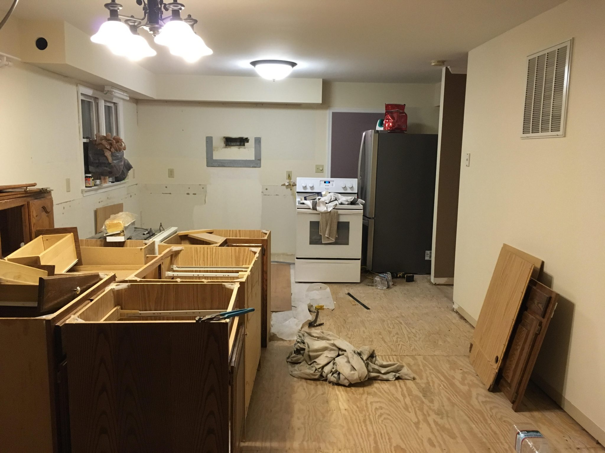After: Kitchen Demo