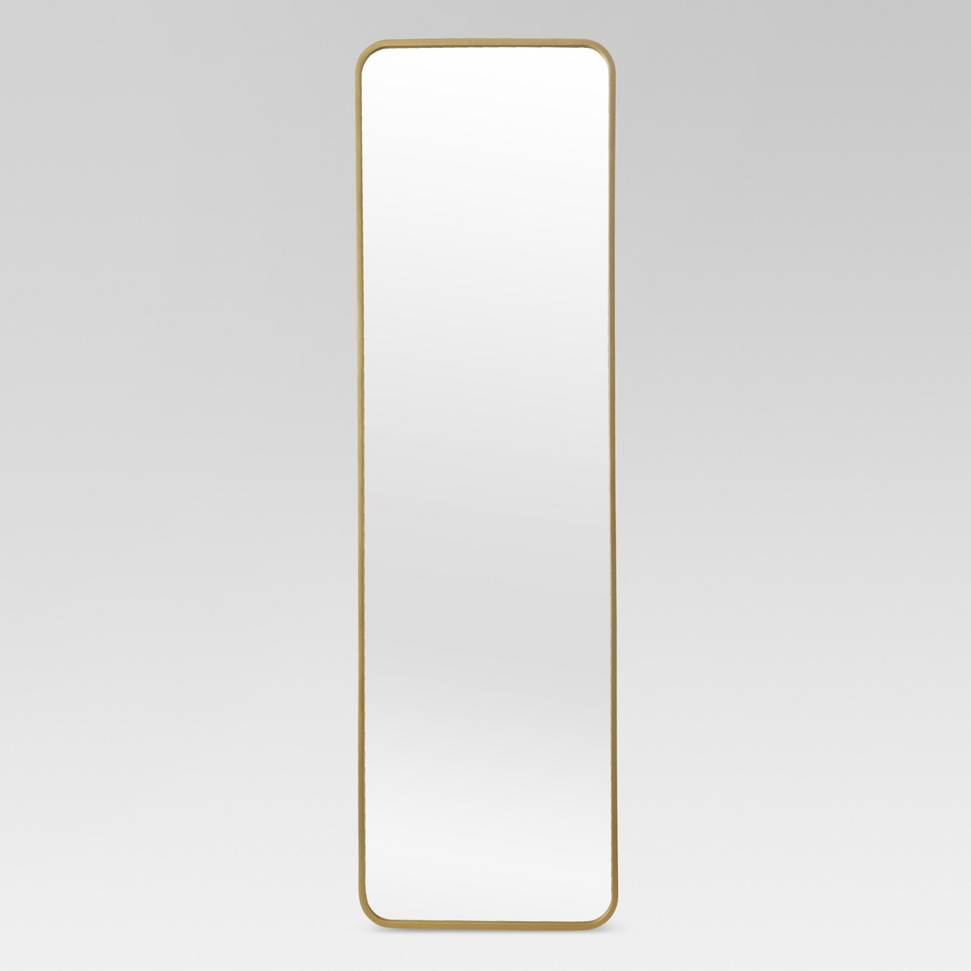 Brass Over the Door Mirror