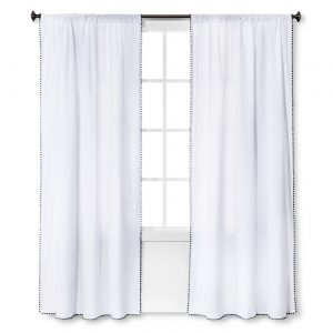Mini Fringe Curtain Panel