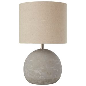 Concrete Tabel Lamp