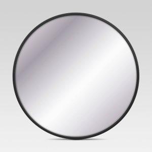 Black Round Mirror - Project 62