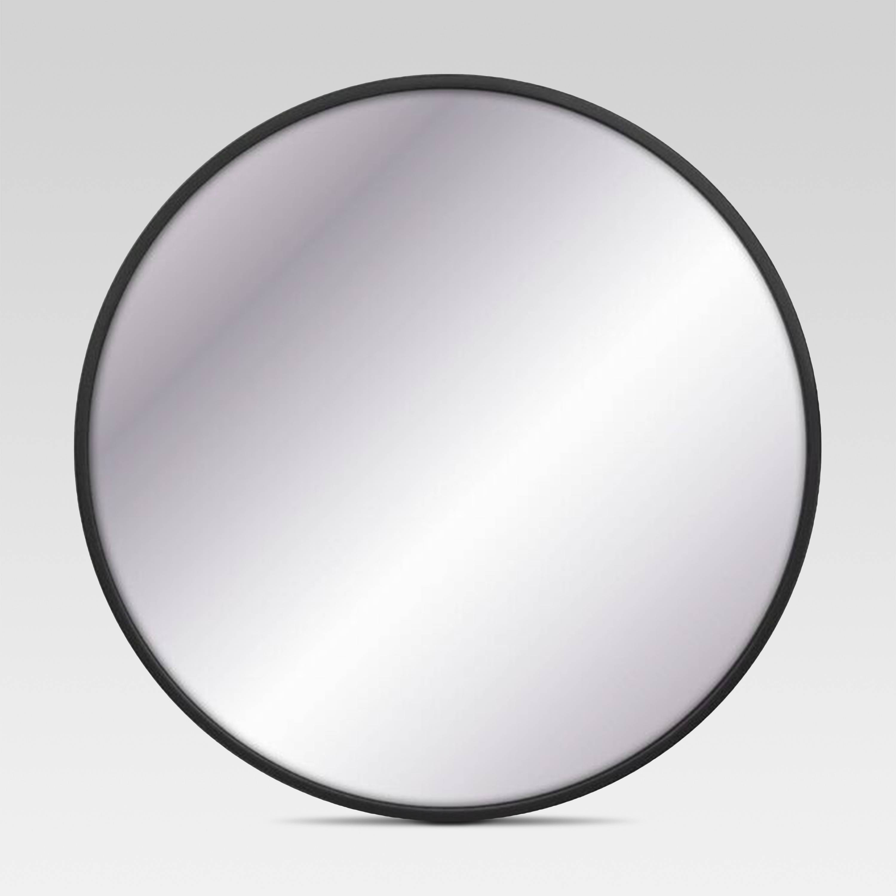 Black Round Mirror - Project 62