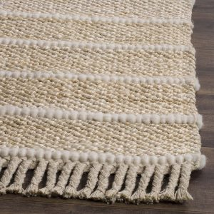 Natural Fiber Abstract Area Rug
