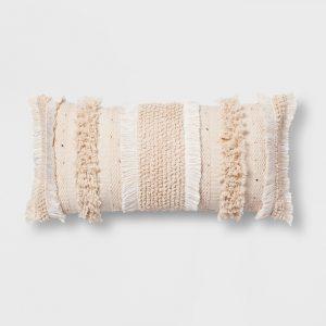 Tufted Lumbar Pillow