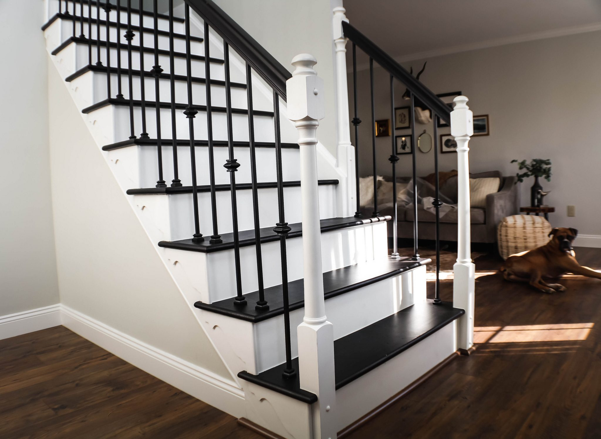 Staircase DIY After