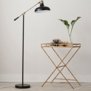Schoolhouse Floor Lamp Black