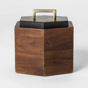 Decorative Box - Black/Brown