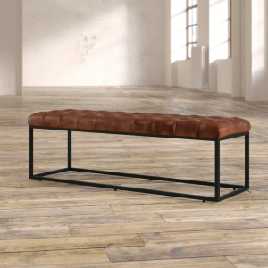 Genuine Leather Bench